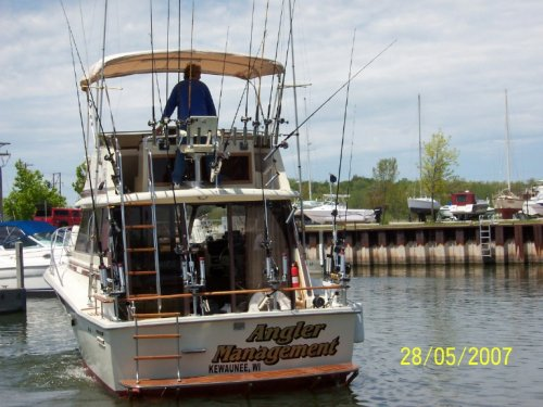 Woods and water for Kewaunee fishing report